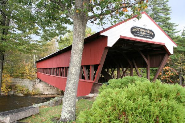 Christiane Schulze - Covered Bridge - Swift River