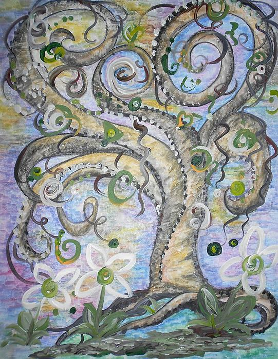 Eloise Schneider - Curly Tree in Fantasy Land