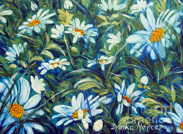 Drinka Mercep - Daisies and Grass