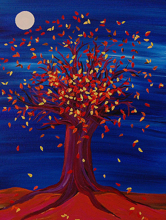 First Star Art  - Fall Tree Fantasy by jrr