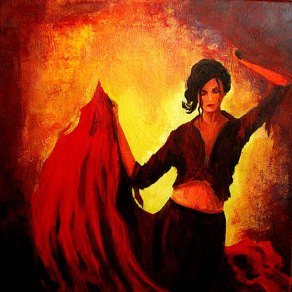 Patricia Awapara - Flamenco Dancer
