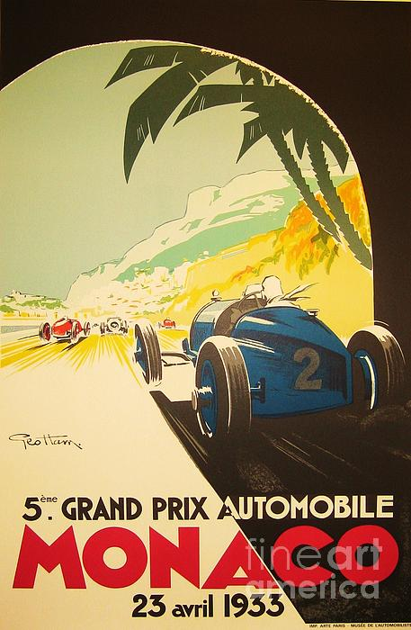 Pg Reproductions - Monaco Grand Prix
