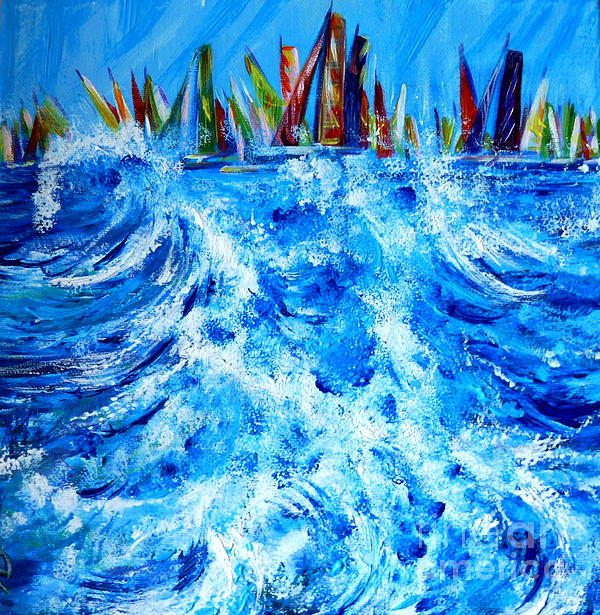 Anna  Duyunova - Regatta.Triptych. Part Two