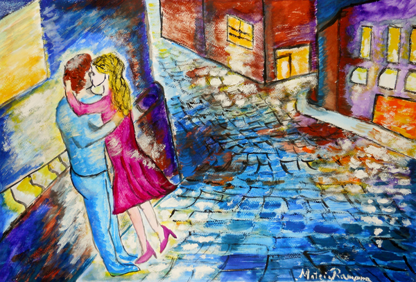 Ramona Matei - Street Kiss by Night