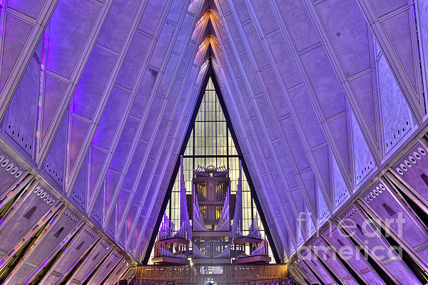 David Bearden - US Air Force Academy Chapel Organ