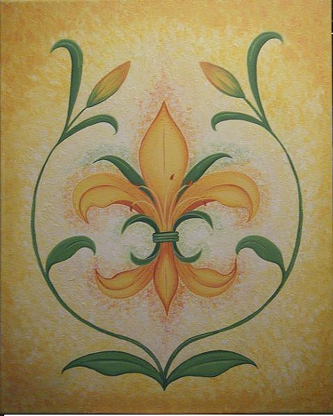 Valerie Chiasson-Carpenter - Lily Flower