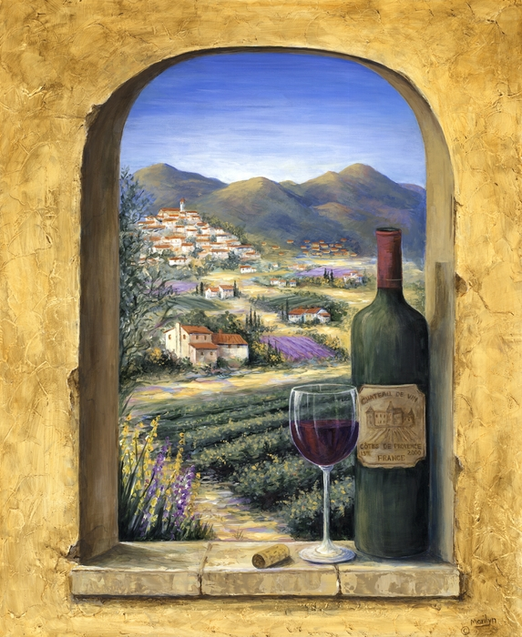 Marilyn Dunlap - Wine and Lavender