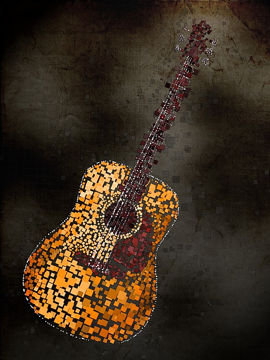 Michael Tompsett - Abstract Guitar