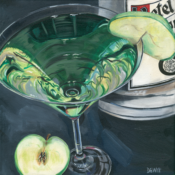 Debbie DeWitt - Apple Martini