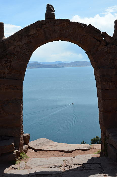 Michael Langdon - Arch of Lake Titicaca