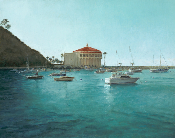 Laura Wynne - Avalon Harbor Afternoon