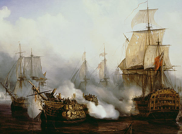 Louis Philippe Crepin  - Battle of Trafalgar