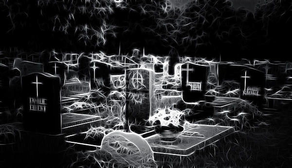 Ellen Lacey - Cemetary at Night