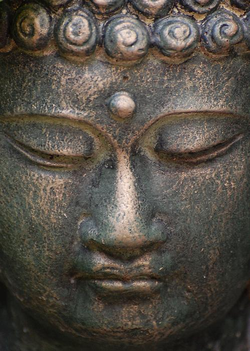 Anna Clarke - Face of Buddha