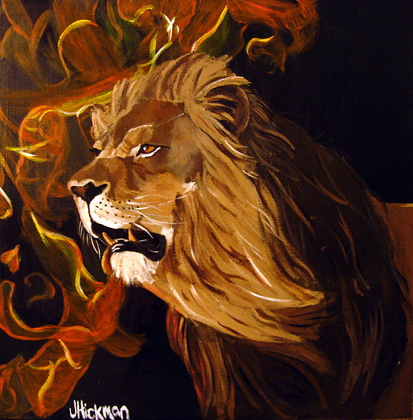 Jennifer Hickman - Fire Lion