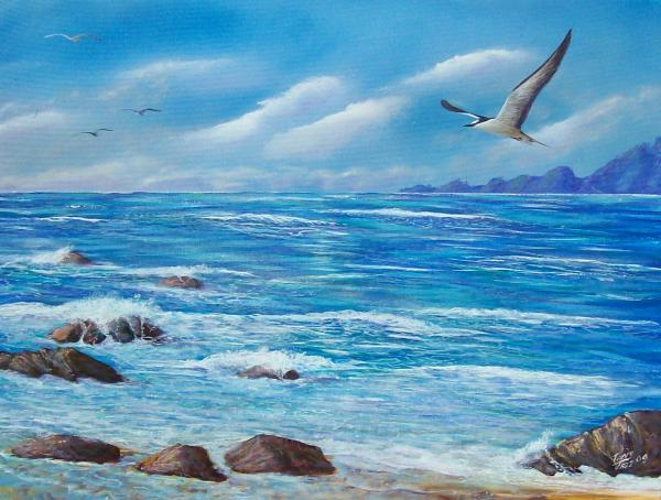 Tony Rodriguez - Flight Seascape