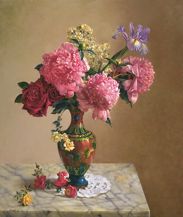 Lyndall Bass - Grand Peonies