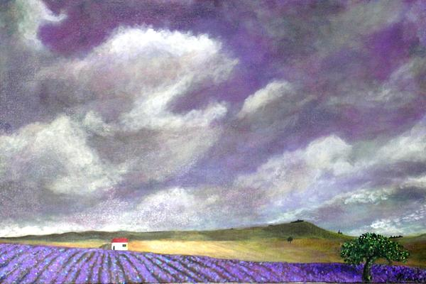 Marie-Line Vasseur - Hot Summer Day In Lavender Kingdom