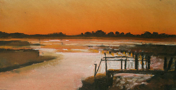 Paul Mitchell - Orange Estuary