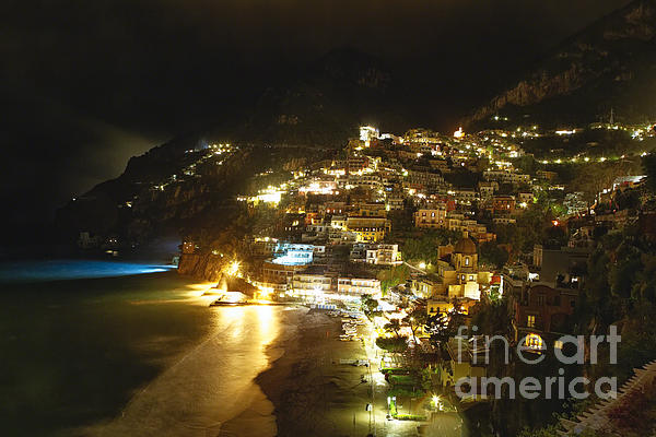 George Oze - Positano Nightscape