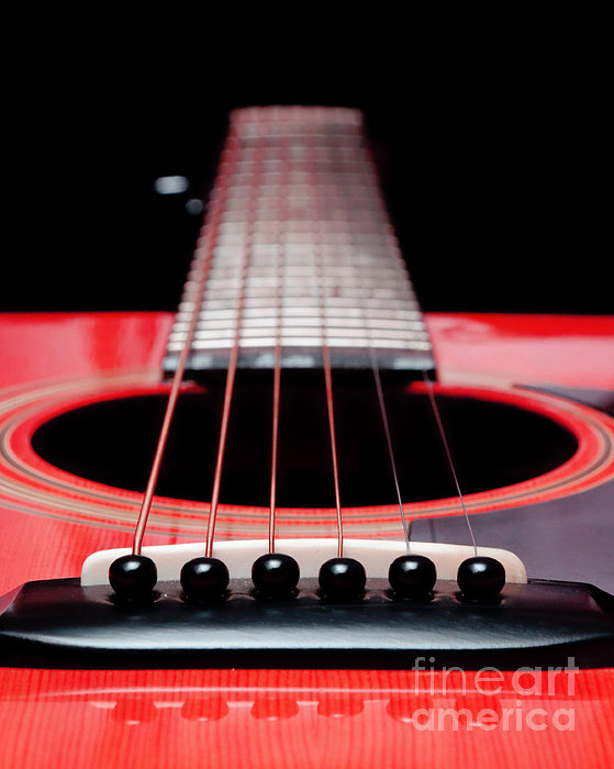 Andee Photography - Red Guitar 16