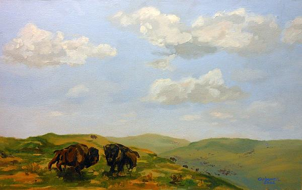 Rick Carbonell - Roaming the Prairie Bluffs