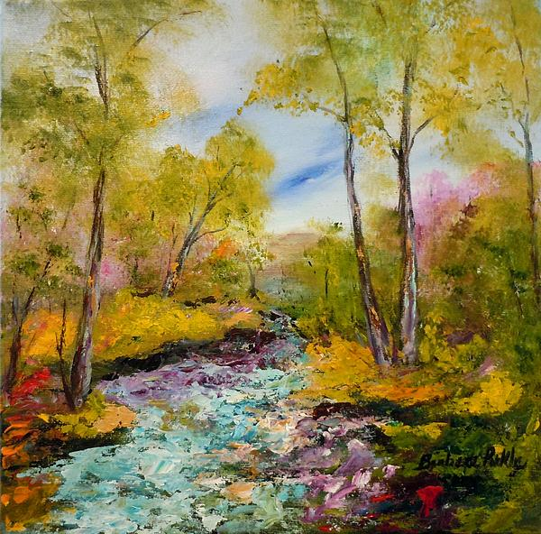 Barbara Pirkle - Springs Rushing River