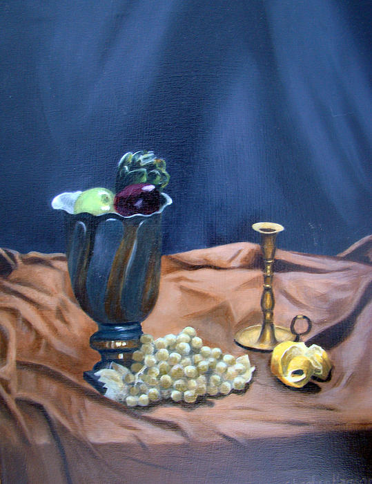 Stephen  Hanson - Still Life in Velvet