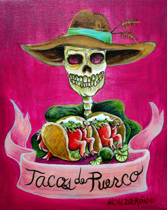 Heather Calderon - Tacos de Puerco