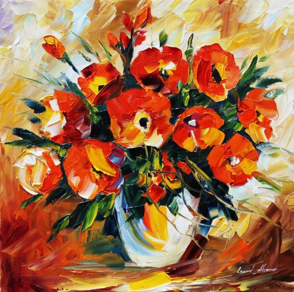 Leonid Afremov - The Spring Is Here
