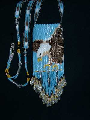 Mary Miller - This is a american eagle amulet bag