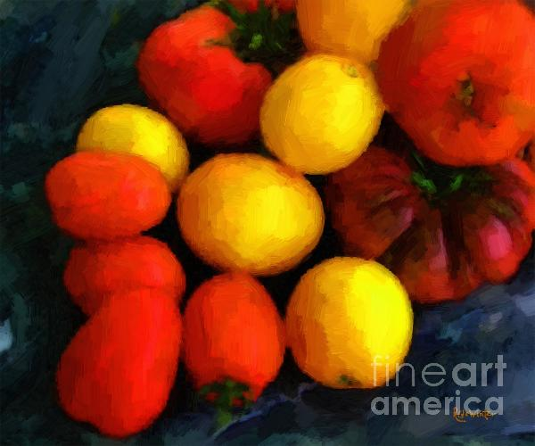 RC DeWinter - Tomatoes Matisse