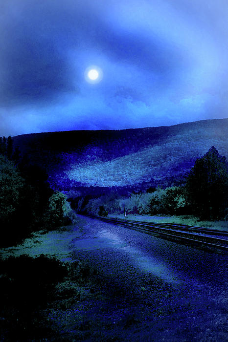 Nina Fosdick - Train Track And Moon