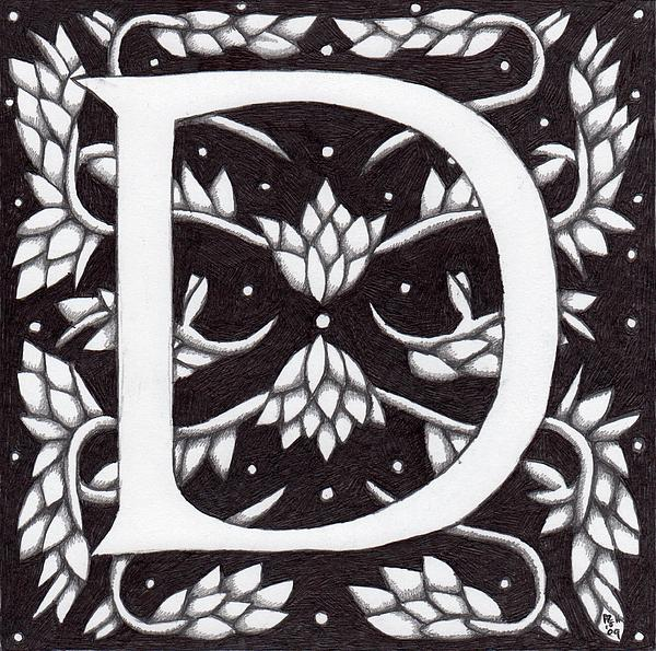 Donna Huntriss - William Morris Letter D