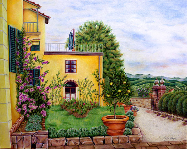 Gloria J Callahan - Winery At Diavoli