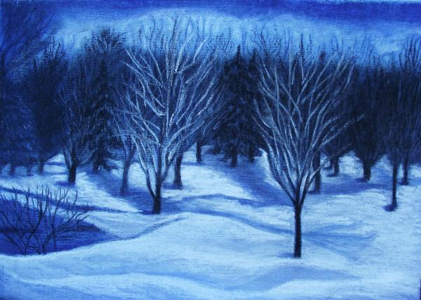 Iryna Ivanova - Winter Moonlight