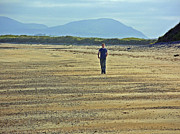Fergal Kearney - Lone Walker at Rosnowlagh