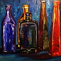 Alena Rumak -  Colorful bottles