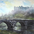 Jean Walker -  Ludlow Castle in a Mist
