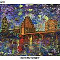 GretchenArt FineArt - Austin Starry Night
