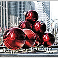 Geraldine Scull ART - Christmas Decorations In...