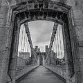 Ian Mitchell - Conwy Suspension Bridge