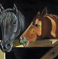 Joyce Geleynse - Horses Visiting At The...