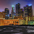 Eddie Yerkish - Los Angeles Skyline At...
