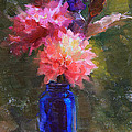 Karen Whitworth - Market Melody - Dahlias...