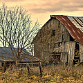 Rick Grisolano Photography LLC - Old Barn and Shed Cloudy...