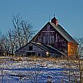 Rick Grisolano Photography LLC - Old Barn with Cross -...