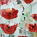 Ismeta Gruenwald - Poppies Flower- Painting