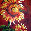 Maureen Ghetia - Sunflower Sunset