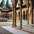 Guido Montanes Castillo - The Alhambra Patio de...